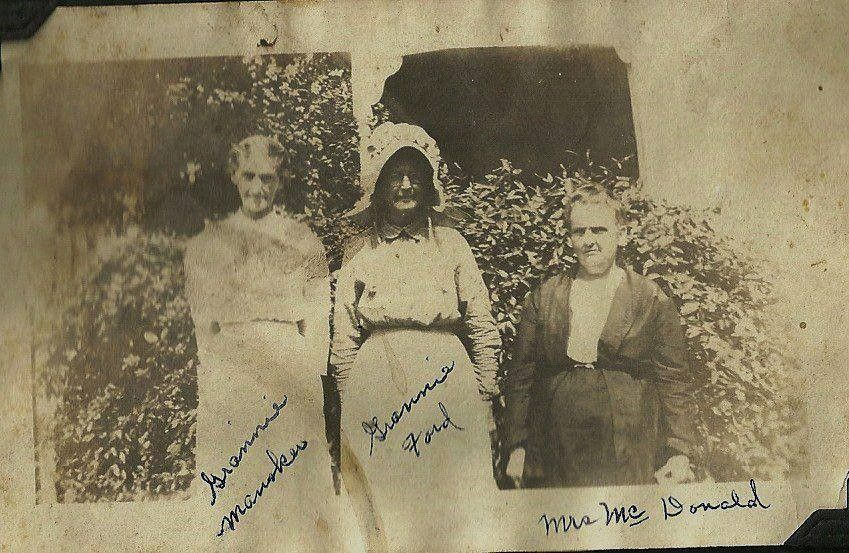 Grannie Mansker, Grannie Ford and Mrs McDonald