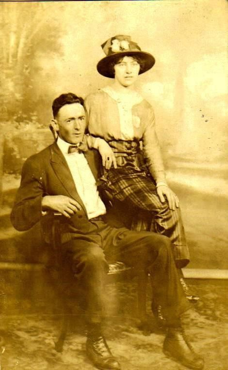 Everett E. Hook and his Wife