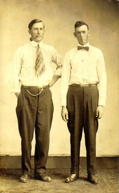 Marvin McCoy and Everett Hook 1917