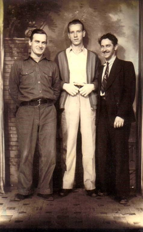 CLAIR, RALPH AND PETE MANSKER