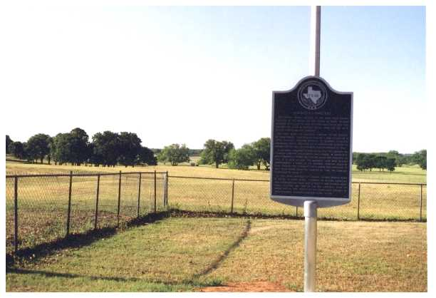 Texas Historical Commission Marker, Alameda Cemetery