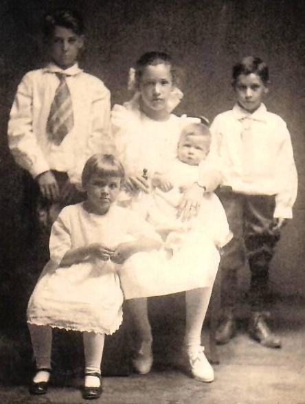 Hugh, Goldie, Melva, Gordon Clair and Paul Mansker