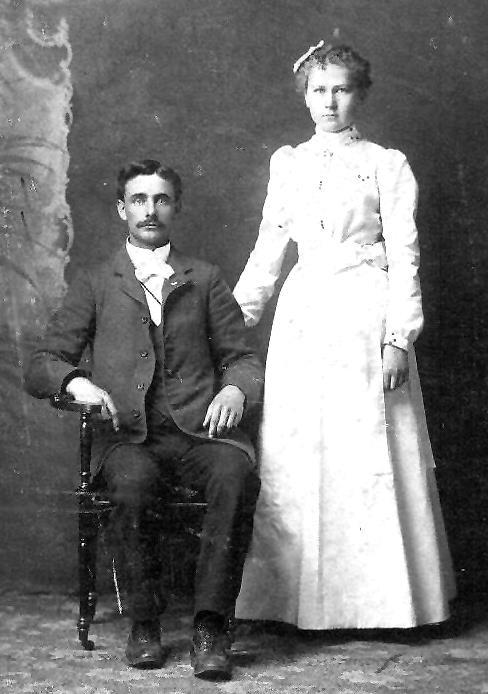 Ed Mansker and Hattie Pearson