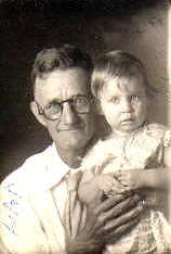 Ed Mansker and Granddaughter Doris Mansker