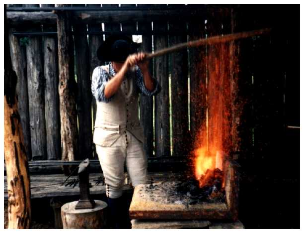 The 18th Century Blacksmith Forge