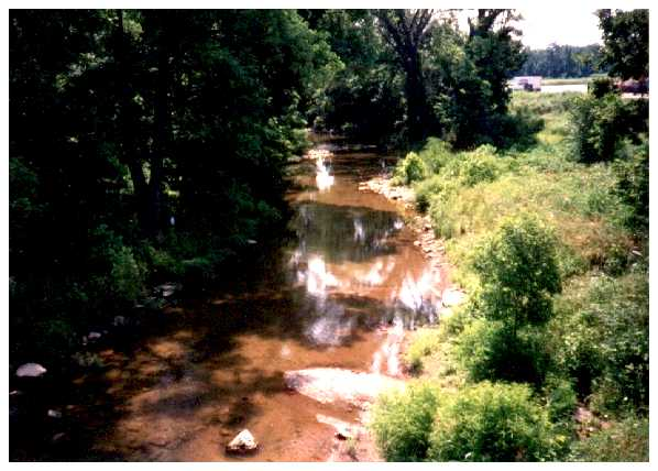Mansker Creek in Goodlettsville