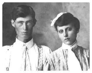 David Newton Mansker and Arizona Lavada (Minnie) Kincaid (1885-1959)
