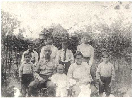 The John Henry Mansker Family,  circa 1911