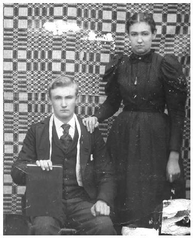 Philip Mansker (1877-1946) &  Caroline Mansker (1879-1952)