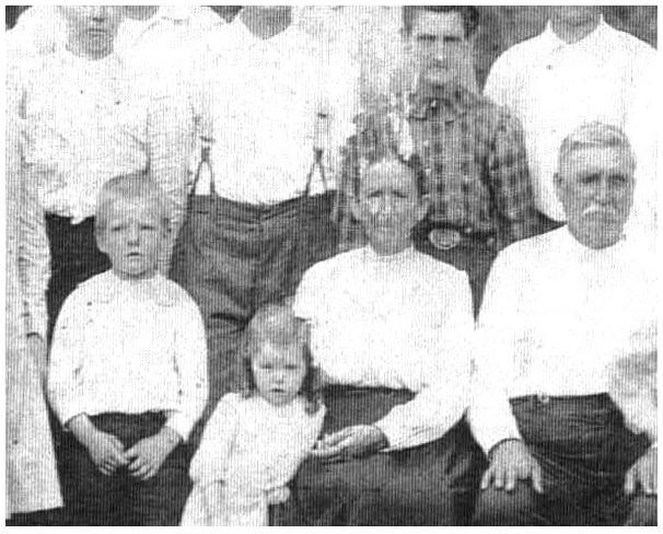 Joseph William (Blind Bill) Ingram & Family