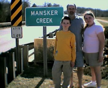 Mansker Creek, Pocahontas, Arkansas