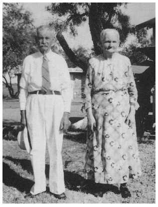 Joseph Newton Hudson and Mary Elizabeth Mansker
