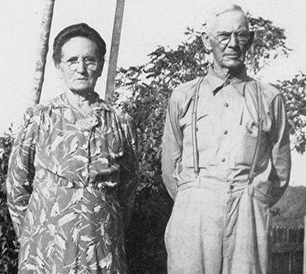 Rebecca Mansker (1849-1926) and Jasper Woodfin
