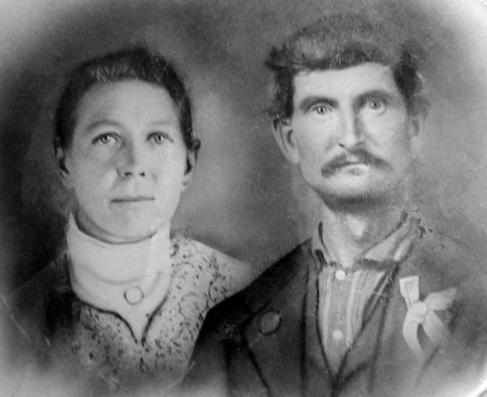 Henry Clay Moore and Susan Geneva Barron